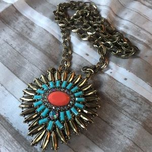 Double-sided Statement necklace